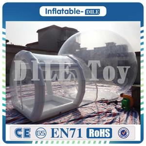 esterno tenda a effetto serra, la tenda gonfiabile con camere tende da campeggio con vestibolo, gonfiabile sigillato tende costruzione aria