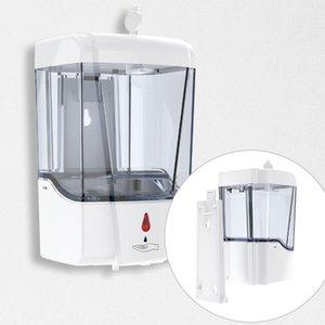 Soap automática 700ml dispensador montado na parede Automatic Sensor Infravermelho de Grande Capacidade Sabonete Líquido Dispensers mão Washer OOA8167