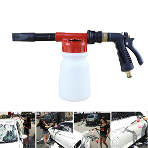 900ml Araç Temizleme Suyu Gun Kar Köpük Lance Taşınabilir Otomobil Yıkama Bakımı Metal Su Tabancası Dekontaminasyon Aracı Sprey