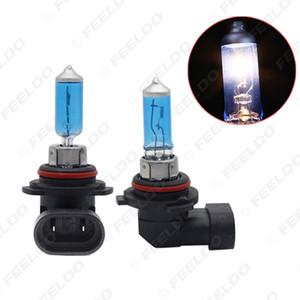 도매 화이트 9006 HB4 12 볼트 55W / 100W 자동차 안개등 할로겐 전구 헤드 라이트 램프 자동차 광원 주차 # 2139