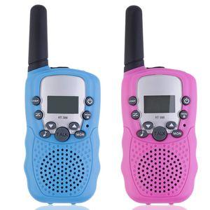 YKS 2 pcs RT-388 Walkie Talkie brinquedos para as crianças 0.5W 22CH rádio bidirecional Meninos e Meninas do presente Xmas Brithday Crianças