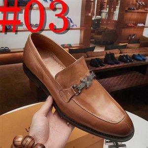 luxurious Men leather shoes business dress suit shoes men brans Bullock genuine leather black slipon wedding mens shoes 2020