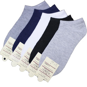 20 Pieces =10 Pairs High Quality Of Pure Color Cotton Men Scoks ,Classics Men Ankle Socks Men Socks Cool