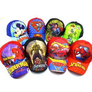 Hulk America Captain Cap Avengers Baseball Hat Cartoon Hat Snapback Baseball Cap Kids Popular Hero Cap Baby Boy Hat