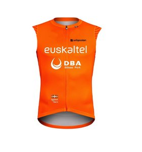 WINDSTOPPER WINDPROOF 2020 Euskaltel Euskadi DBA PRO TEAM ONLY SLEEVELESS VEST CYCLING JERSEY CYCLING WEAR SIZE:XS-4XL