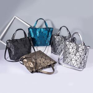 Women Shoulder Bags PU Leather Geometric Print Messenger Korean Satchel Bag for Girls Sac A Dos Bolsas Feminina Mujer Sac A Main