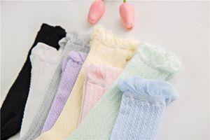 High Socks Baby Children Girls Sport Cotton Socks For Kids Girls Knee Cute Comfortable Breathable Cotton