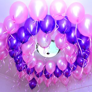 Çevre Dostu Olay Parti Lateks Yuvarlak Parti Balon Düğün Balon Dekorasyon Balon Parti Malzemeleri 100pcs çok 12 İnç Malzemeleri