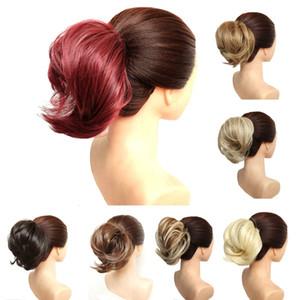 Top Hair Chignon 30g Donut Synthetic Hair Bun Pad Pad Popular High Side Bun Updos más modernos para cabello de longitud media