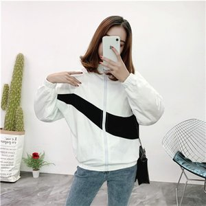 de alta qualidade Brasão casacos Sports Designerjackets Feminino Windbreaker Street Style Brandcoats Outdoor Jacket Zipper Hoodies 20022201CE