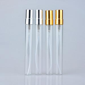Малая прозрачные стеклянные бутылки емкость 10 мл Духи Раздельной Загрузка Бутылка Spray Пусто BOTTLING Портативной Женщины Открытых 0 9yr H1