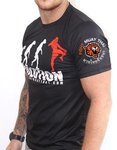 VSZAP фитнес быстросохнущая футболка мужская Tiger Evolution Print MMA Fighting с коротким рукавом UFC Muay Thai Sanda Fashion Tshirt Men Y200422