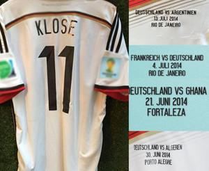2014 Final Gotze Mailleot Muller Schweinsteiger Podolski Klose Lahm مع تفاصيل مباراة نهائية شارة التصحيح كرة القدم