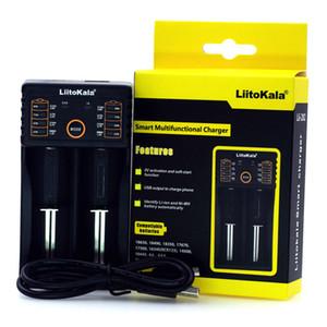 Liitokala 202 Universal-Ladegerät Lii-202 für wiederaufladbare 18650 26650 18350 14500 14650 usw. Lithium-Batterien 100% Original