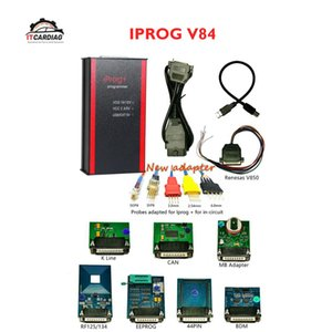 V84 Iprog+ Iprog Pro Odometer Correction Scanner ODO Adjust Car Key Programmer Airbag Reset Tool Replace Carprog Digiprog 3
