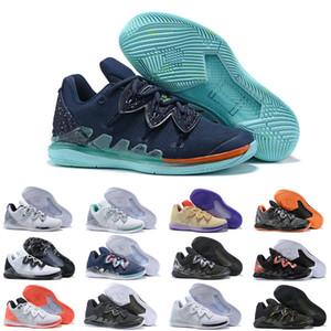 Erkek KII 5 V All-Star Basketbol Ayakkabı Sihirli Mısır Firavunu kamuflaj 5 s Zoom Spor eğitimi Sneakers 40-46