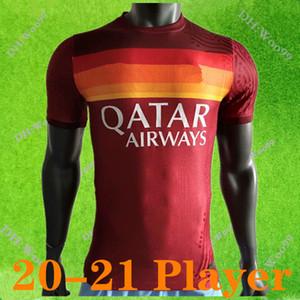 Player versione 20 21 DZEKO PEROTTI PASTORE Zaniolo calcio maglia Roma 2021 TOTTI maglie maglia da calcio DE ROSSI come maillot de Roma piede