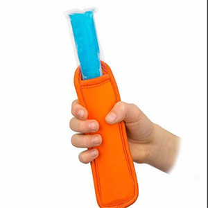 Hot antigelo Popsicle sacchetti freezer Popsicle titolari riutilizzabile neoprene isolamento Ice Pop Maniche Bag for Kids Summer Kitchen Tools