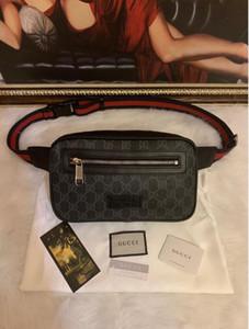 2019Women cintura saco saco famoso cinto marca mulheres bolsa pacote de mulheres de designer pacote de cintura fanny pequenas grafite sacos de barriga novo style668