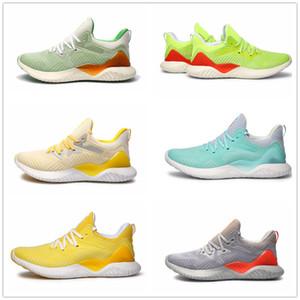 2020 AlphaBounce beyonds mármoles tiburón Fuera de los zapatos corrientes de las zapatillas de deporte Negro Blanco Caqui Alfa rebote Hombres Mujeres 36-45