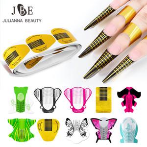Дешёвого 100шт Профессиональные инструменты искусства ногтя Удлинитель UV Gel Tip Extension Builder Форма лотка Bee Бабочка ногтей Маникюр Поставка инструмента