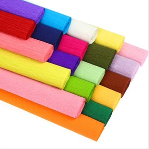 Crepe Paper Kindergarten Handcraft Expansion Crimped Bouquet Wrapping Packaging Packing Business & Industrial HA731