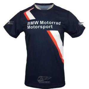 BMW-Motorrad-T-Shirt-Sommer-beiläufige Top-Fabrik Team Edition Kurzarm Rundhals Off-Road-Radtrikot atmungsaktiv und schnell trocknend