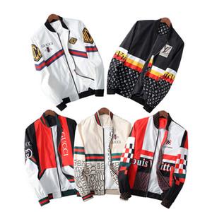 nouvelle veste de mens de luxe Sweat-shirt à capuche manches longues Automne sport fermeture à glissière Marque coupe-vent Vêtements pour hommes Plus Size 3XL