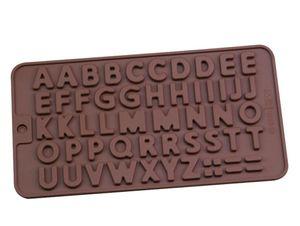식사 케이크 장식 도구 실리콘 초콜릿 몰드 문자와 숫자 퐁 당 금형 쿠키 도구를 BAKEWARE