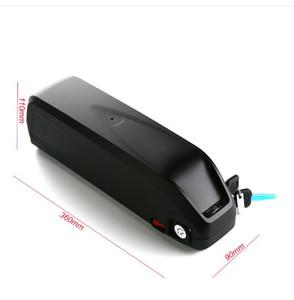 US EU Freies Steuer Hailong Lithium Batterie verwenden für Panasonic 2900 MAH zelle 48 V 12AH Elektrische Fahrradbatterie für Bafang BBS02 48 V 750 Watt