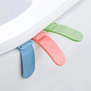 3PCS Foldable Toilet Seat Lifting Handle Lift Raise Lower Lid Handle Grip Cleaner Toilet Seat Cover Lifter Bathroom Accessories