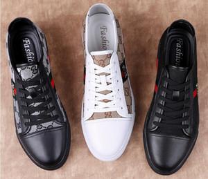 2019 Primavera popolare scarpe casual estate nuove scarpe di tendenza versione coreana mocassini da uomo in pelle di moda low-top, scarpe casual da trekking 38-46