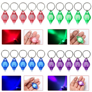 Creative UV LED Keychain Did Portable Light Keychain Car Instruments 4 Color DHL Shipping XD23279