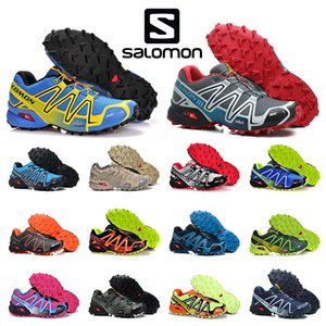 DESTOCKAGE Solamon Speedcross 3 III CS chaussures de randonnée en plein air femmes hommes vitesse chaussures de course cross entraîneurs sportifs de sport chaussures de sport 5 à 11,5