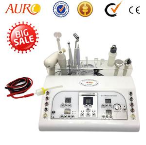 Noël 7 dans 1 machine faciale galvanique ultrasonique multifonctionnelle haute fréquence avec 7 fonctions pour utilisation en salon de beauté et spa AU-8208