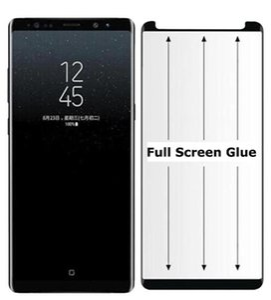 für Samsung S10 Plus-Note 10 Pro-Schirm-Schutz-Kasten Freundlicher Voll GlueTempered Glas für 3D gebogene Kante Telefon Lion Neue Kleinverpackung