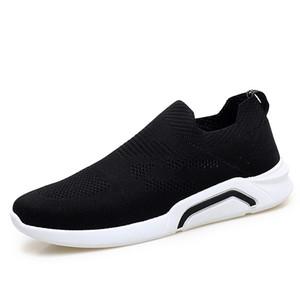 Горячие Повседневная мода обувь Обувь Мужской Adult Easy Wear Мокасины Мужчины дышащий Black Spring Summer Mocassim Sapatos Человек Мужчина для