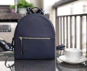 مصمم العلامة التجارية 2 الألوان الظهر الحقائب المدرسية حقائب أزياء الفتيات المرأة مصمم الأزياء حقيبة الكتف