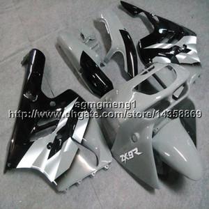 Regalos + Tornillos gris Carenado de motocicleta Para Kawasaki 94 95 96 97 ZX-9R 1994-1997 Motor ABS Carenado