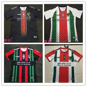 En kaliteli 2020-2021 Filistin futbol forması ev siyah beyaz özel isim numara futbol forması ücretsiz gönderim