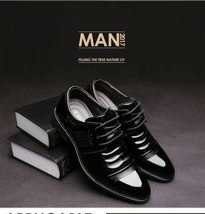 Vendita calda-cuoio nero scarpe formali uomini scarpe da ufficio uomo scarpe da sposa zapatos para hombre sapatos masculinos heren schoenen erkek ayakkabi