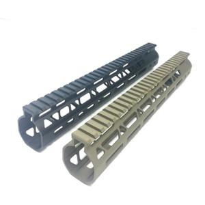 12 inch M-Lok Handguard Free Float Rail Monothilic top rail fits .223 5.56 Steel Barrel nut