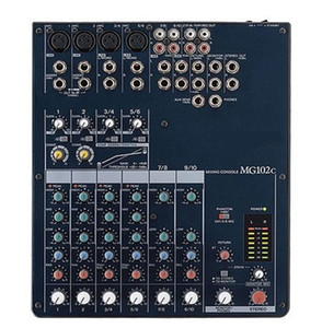 Freeshipping for Yamaha MG102C 10 channels Professional Stereo Digital Mixer