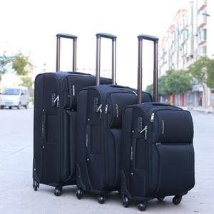 Maleta impermeable de alta calidad, maleta universal para ruedas, equipaje de gran capacidad anti-caída con contraseña, caja de embarque de 20 pulgadas