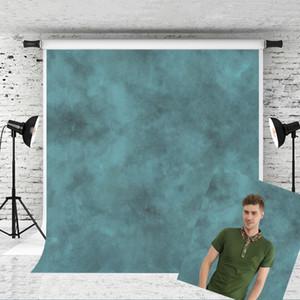 Sogno 5x7ft Texture Ritratto Fotografia Fondali per Fotografo Blu sfondo astratto Vecchio Maestro puntello della foto Studio