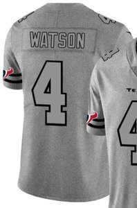 Chanvre Ash Throwback Limited Jersey Man Houston hommes 4 Chemises jersey Toutes les équipes maillots de football américain