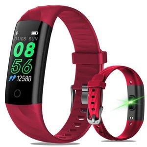 S5 андроид смарт-часы Женщины IP68 водонепроницаемый давления Спорт браслет Смарт Фитнес Tracker крови сердечного ритма MONTRE Intelligente смарт часы
