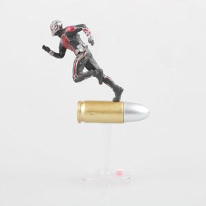 Azione Marvel Civil War Captain America Super Hero Ant Man Wasp Mini PVC Figure da collezione modello bambini bambola Giocattoli 6,5 centimetri