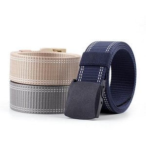 New Style Man Women Casual Fashion Nylon Belt High Quality Nylon Material Mens Belts Sports Outdoor Male Jeans Tactical Belts