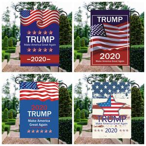 Trump 2020 banderas de la campaña presidencial de la bandera estadounidense Jardín 12 diseños hacen grande a Estados Unidos de nuevo la bandera envío rápido al por mayor